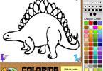 Igra Dinosaur Bojanje Igrica - Igrice Bojanja Igre Bojanka za Djecu