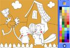 Igra Mački Bojanje Igrica - Igrice Bojanja Igre Bojanka za Djecu