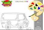 Igra Autobus Bojanje Igrica - Igrice Bojanja Igre Bojanka za Djecu