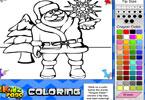 Igra Djed Mraz Bojanje Igrica - Igrice Bojanja Igre Bojanka za Djecu
