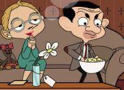 Mr. Bean igre – skriveni poljubac