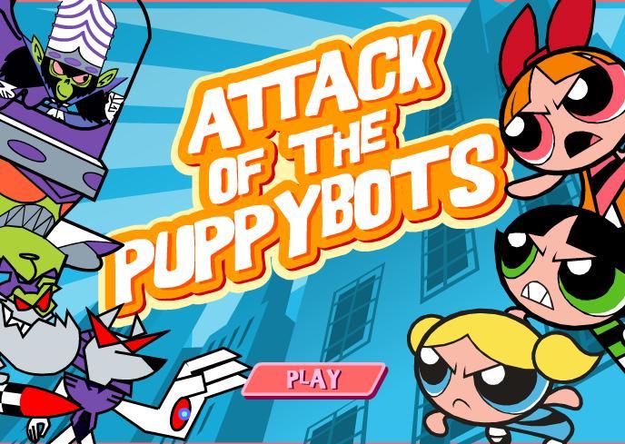 Powerpuff girls igre – psići napadaju