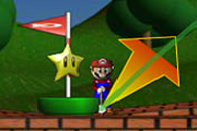 super mario mini golf