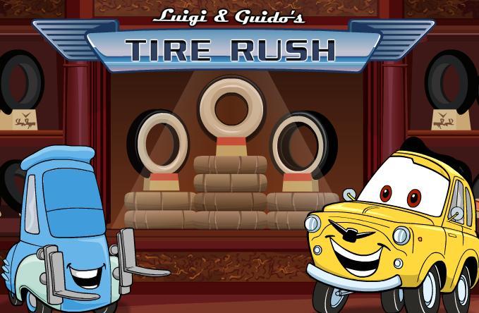 Munjeviti Jurić igre – Luigi i Guido mijenjaju gume
