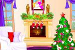 Božićna Soba Zabava Party Igre Dekoracije Dekoriranja
