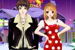 Romantični Božić Igre Igrice Oblačenja