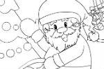 Bojanka Djed Mraz – Igre Bojanja
