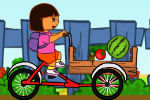 Dora dostavlja namirnice – Vožnja Bicikla