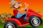 Farmer vozi Skuter – Vožnje Motora