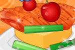 Začinjena Piletina – Igre Pečenja Mesa