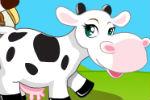 Oblačenje Krave Igre Oblačenja Uređivanja Uljepšavanja