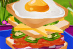 Slaganje Sendviča – Igre Pripremanja hrane i kuhanja