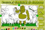Shrek Igre Bojanja- Crtić