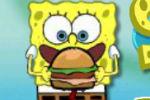 Spužva Bob jede Hamburgere – Logičke Igre