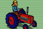 Igra Traktor koji skuplja maskačke – Igrice Farma