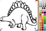 Igra Dinosaur Bojanje – Igrice Bojanja za Djecu