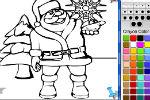 Igra Djed Mraz Bojanje Igrica – Igrice Bojanja Igre Bojanka za Djecu